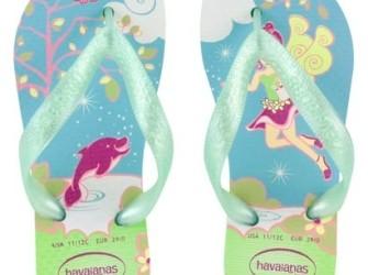 NIEUW! Havaianas babyslippers Fairy mt 26 in groen