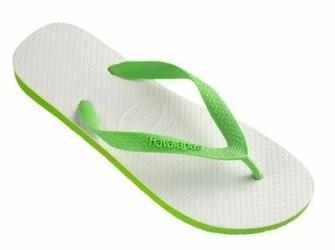 FRIS en VROLIJK Havaianas slippers in t lichtgroen