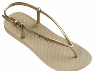 NIEUW! Havaianas slippers Fit mt 39/40 Golden Sun