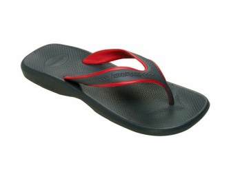 NIEUW! Slippers Havaianas Wave mt 45/46 in grafiet