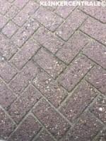 19304 ROOIKORTING 2.500m2 rood betonklinkers straatstenen o…