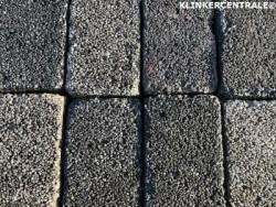 19313 RESTPARTIJ 15m2 grijs zwart betonklinkers keiformaat…
