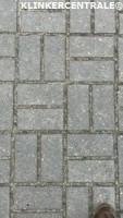 19321 ROOIKORTING 400m2 grijs betonklinkers straatstenen jo…