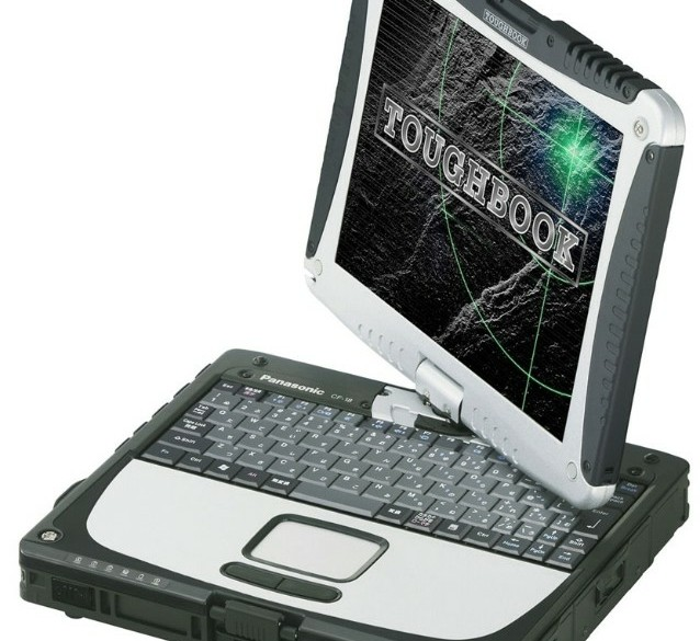 Panasonic Toughbook CF18 1,2ghz 1,5GB 60GB Touch