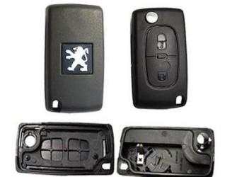 peugeot 307 sleutel behuizing