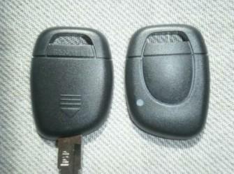 renault afstandsbediening sleutel behuizing 1 knop