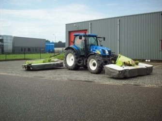 Claas Triple maaier Front 300 FC Achter 8500 FC