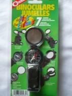 Kompas, verrekijker, telescoop, vergroot e.d…