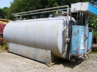 Fuel tank 8000 L + 7000 L