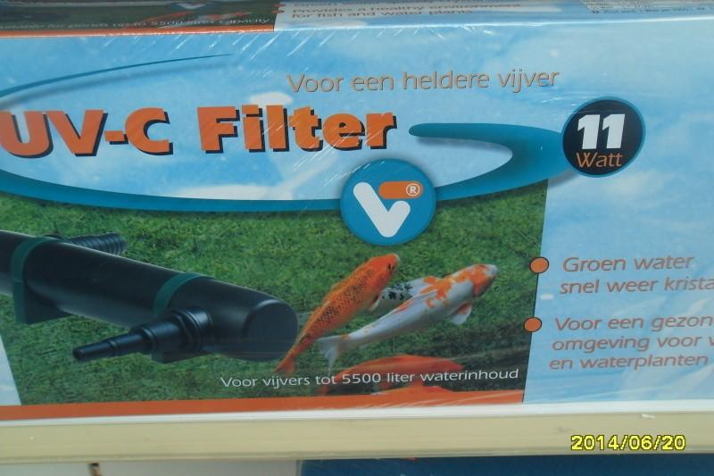 UV-V filters