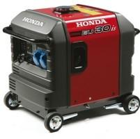 Generator aanbieding Honda EU30is 3 kVA, 230V super stil!