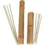 Tonkin Bamboe stokjes kort 20 cm. naturel 3mm BUNDEL 100 To…