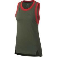 Nike Elite Dames Basketball Tank Top Khaki Dri-FitKledingm…