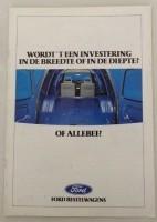 Folder - Ford Bestelwagens - 1988
