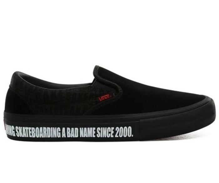 Vans x Baker Skateboards Slip-On Pro zwartSchoenmaat EU :…