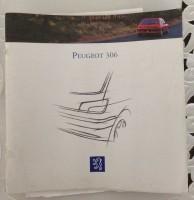 Folder/brochure - Peugeot 306