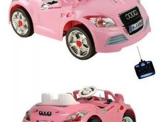 Sportauto 1 persoons 12V & Afstandsbed & MP3-Aansl