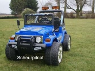 Jeep Adventure, 1,5 persoons 12V met RC ~*NIEUW*~