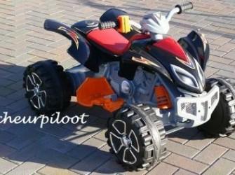 Stoere Kinder Quad, 12V (dubbele motors) **NIEUW**