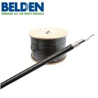 Belden Coaxkabel H125 PVC kleur zwart