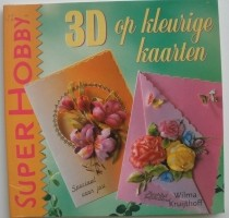 Boekje - 3D op kleurige kaarten