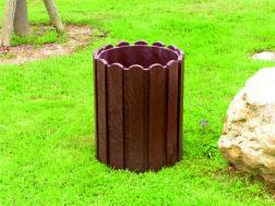 Kunststof Afvalbak SC 1in drie uitvoeringen, op grond, vana…