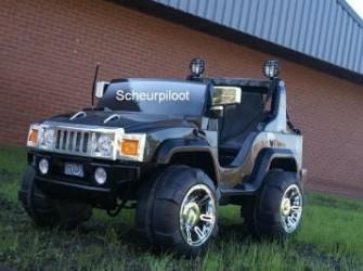 Jeep, 2 pers 12V & FM radio & MP3 aansl ~NIEUW~