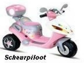 Scooter, 6V - Kleur:Roze ***Nieuw***