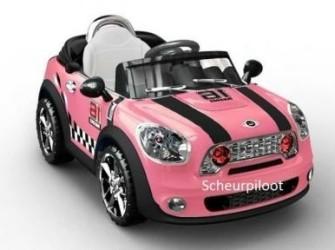 Stoere Auto, 1 pers 6V + Afstandsbediening ~NIEUW~