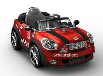 Stoere Auto, 1 pers 6V + Afstandsbediening *NIEUW*