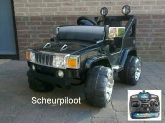 Jeep, 1 persoons 12V & Afstandsbediening *NIEUW*