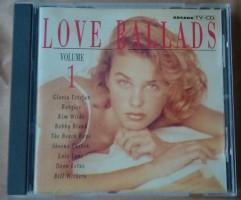 """De originele verzamel-CD """"Love Ballads Volume 1"""" van Arcade…"""
