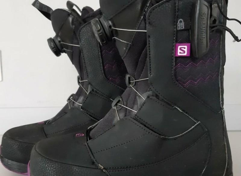 Te Koop: Salomon Snowboardschoenen