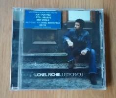 """Te koop de originele CD """"Just For You"""" van Lionel Richie."""