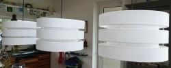 3 hanglampen als nieuw
