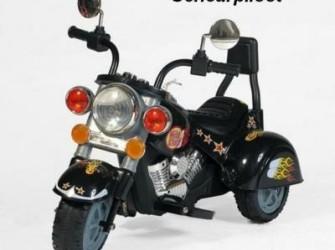 Stoere trike, 6V - Kleur:Zwart ***NIEUW***