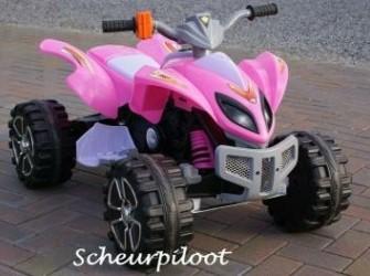 Stoere Kinder Quad, 12V (dubbele motors) ~*NIEUW*~