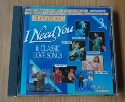 Verzamel-CD Golden Love Songs Volume 3 I Need You van Arcad…