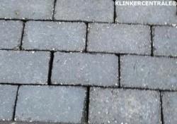 20024 ROOIKORTING 3.000m2 antraciet betonklinkers straatste…