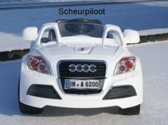 Sportauto 1 persoons 12V + Afstandsbed & MP3-Aansl