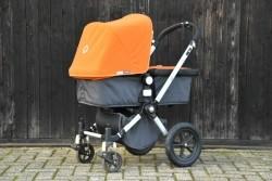 Bugaboo Cameleon kinderwagenset + nieuwe bekleding (ZGAN)
