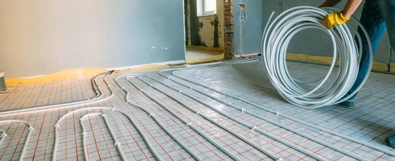 Een kurkvloer en vloerverwarming gaan prima samen!