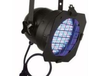 8x LED-parren met 2x LEDbar en 2x statieven met DM