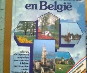 Boek Onderweg in Nederland en Belgie