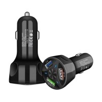 Qualcomm Quick Charge 3.0 Triple Port Autolader/Carcharger…
