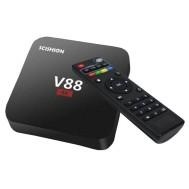 V88 4K TV Box Mediaspeler Android Kodi - 1GB RAM - 8GB Opsl…
