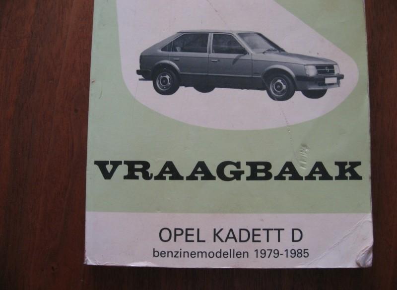 Vraagbaak van de Opel Kadett D