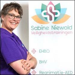 Sabine Niewold Veiligheidstrainingen