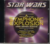 CD met filmmuziek van Star Wars etc