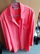 Nieuwstaat roze/zalmkleurige blouse